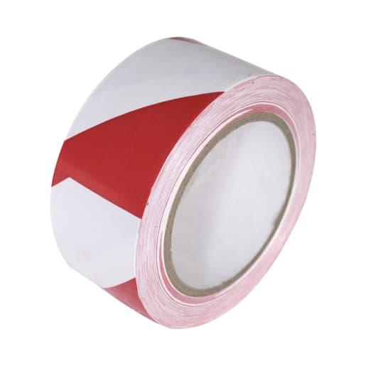 Self Adhesive Floor Tape 33M x 50MM Red/White