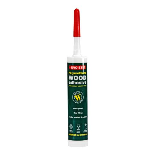 Evo-Stik Polyurethane Wood Adhesive 310ml White