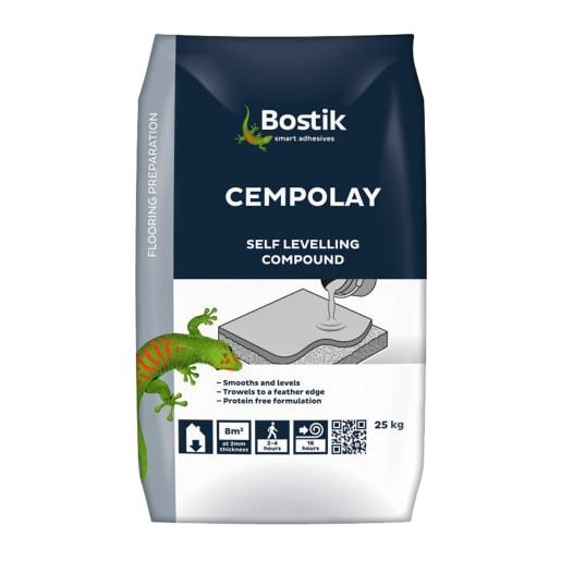Bostik Cempolay Self Levelling Compound 25kg Grey