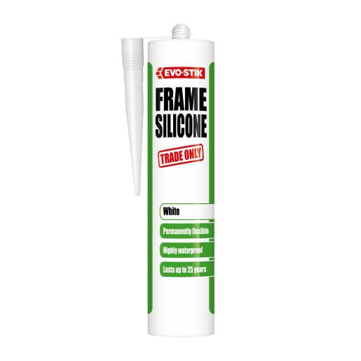Evo-Stik Frame Silicone Sealant White