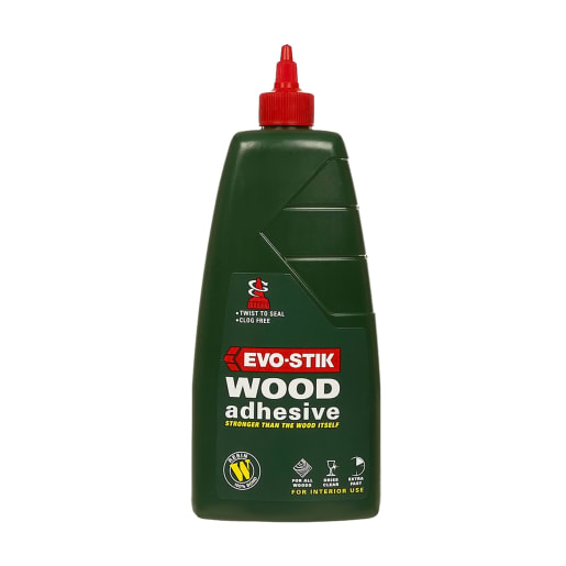 Evo-Stik Resin 'W' Extra Fast Wood Adhesive 1L White