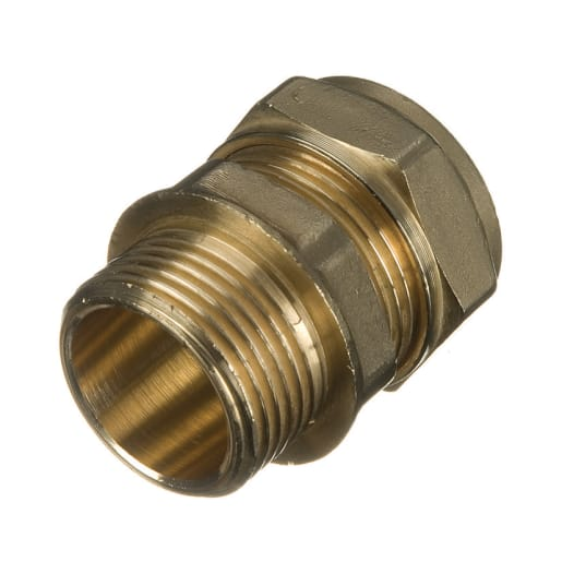 Altech Compression Coupler Male Iron 15mm x 0.5