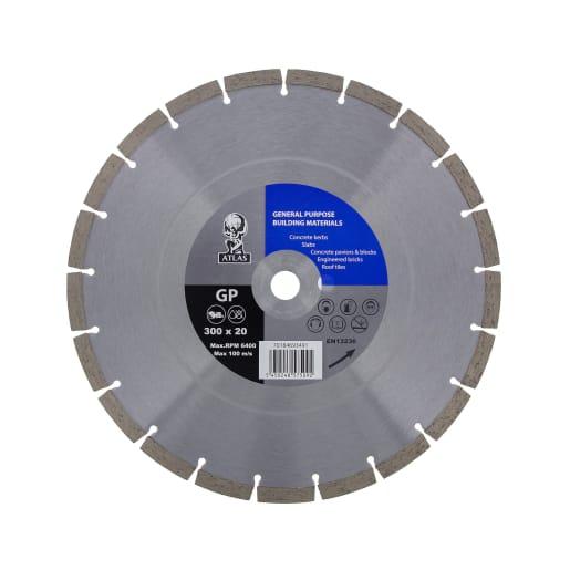 Atlas General Purpose Diamond Blade 300mm Dia
