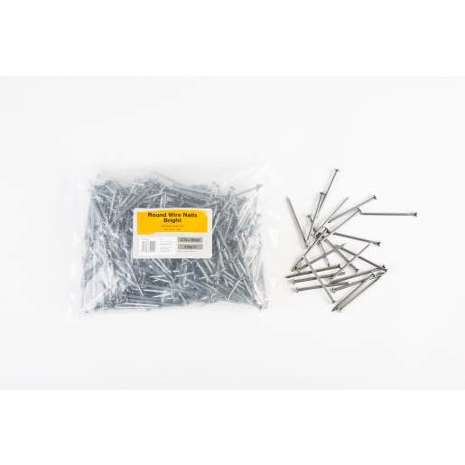 Round Wire Nails 75 x 3.75mm 2.5kg Bright