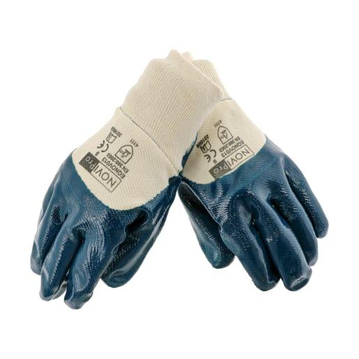 NOVIPro Nitrile Fully Coated Gloves Pair