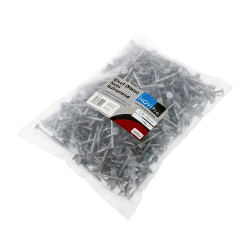 Galvanised Clout Nails 3.35 x 50mm 2.5kg