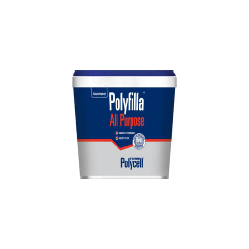 Polycell Polyfilla All Purpose Ready Mixed Filler 1kg White