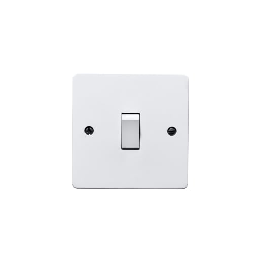 BG Electrical 1 Gang 2Way Switch White
