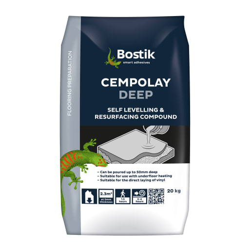 Bostik Cementone Cempolay Deep Levelling Compound 20kg