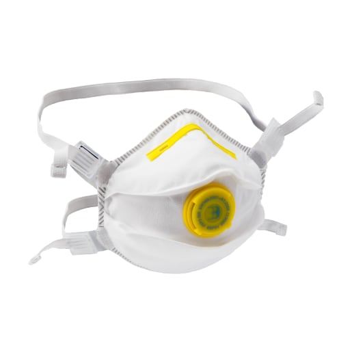 NOVIPro Folded Flat P2 Respirator White