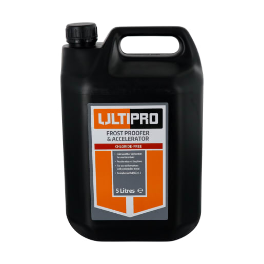 Ultipro Chloride Free Frost proofer 5 Litre Clear