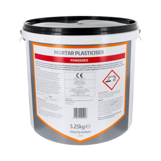 Ultipro Powdered Mortar Plasticiser 250 x 21g Clear