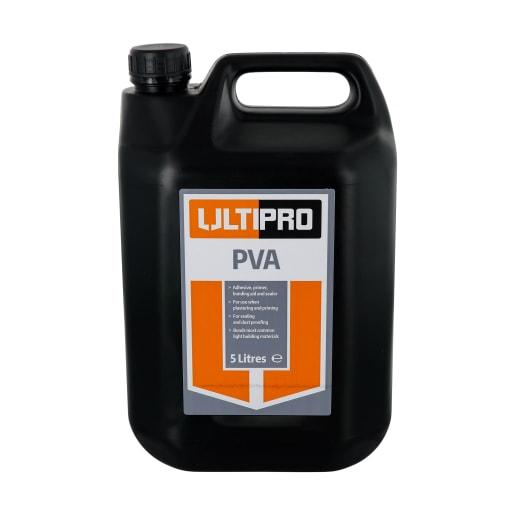 Ultipro PVA Plasticiser Super Jerry Can 5 Litre White