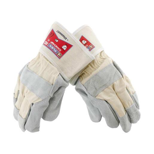 NOVIPro High Grade Rigger Glove Pair White