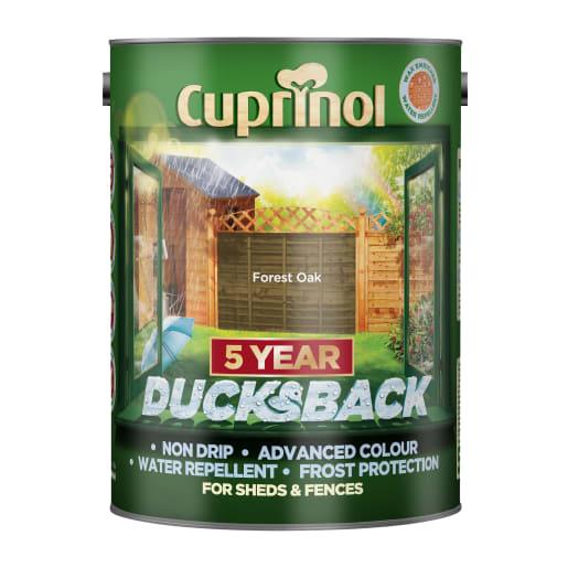 Cuprinol 5 Year Ducksback 5 Litre Forest Oak