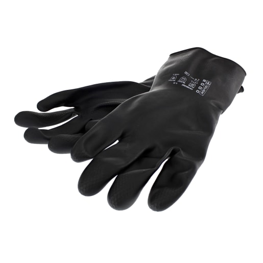 NOVIPro Household Heavy Weight Gloves Black