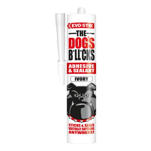 Evo-Stik The Dog's B*ll*cks Adhesive and Sealant 290ml Ivory