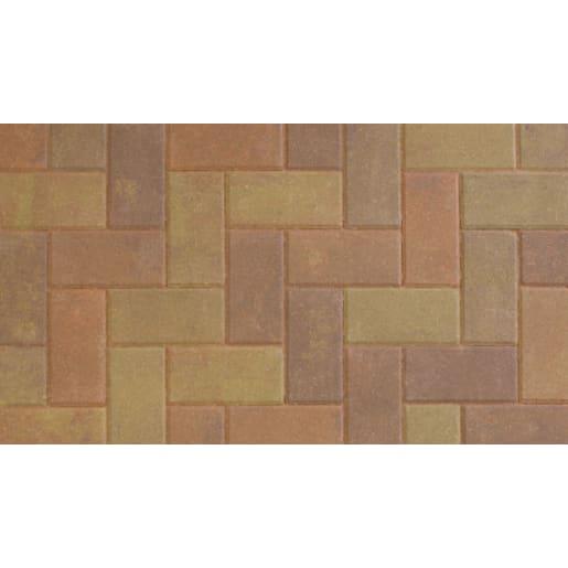 Marshalls Standard Concrete Block Paving 200 x 100 x 50mm Bracken