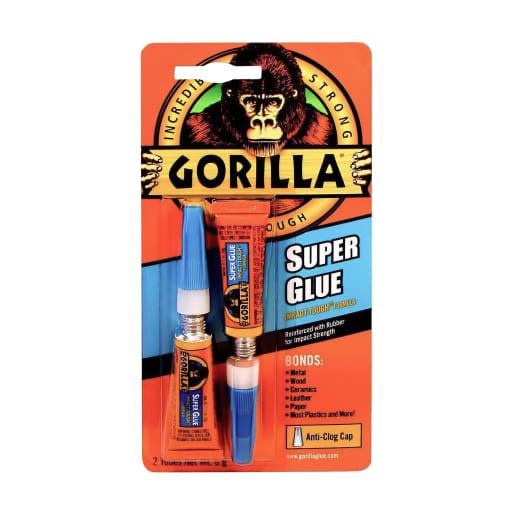 Gorilla Superglue Gel 15g Clear