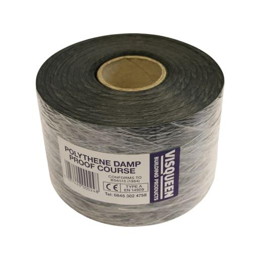 Visqueen Polyethylene Damp Proof Course 30m x 100 x 0.5mm