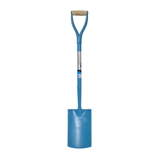 NOVIPro All Steel Digging Spade Blue