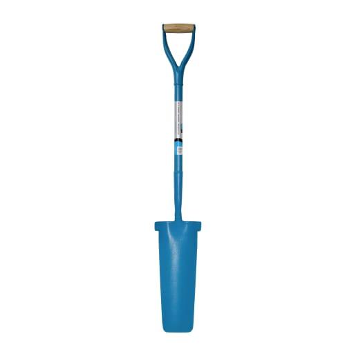 NOVIPro Steel Draining Shovel Blue