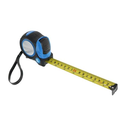 NOVIPro Tape Measure 25mm x 5m Black/Yellow