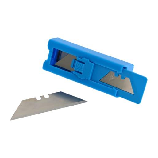 NOVIPro Heavy Duty Knife Blades 18mm Pack of 10 Chrome