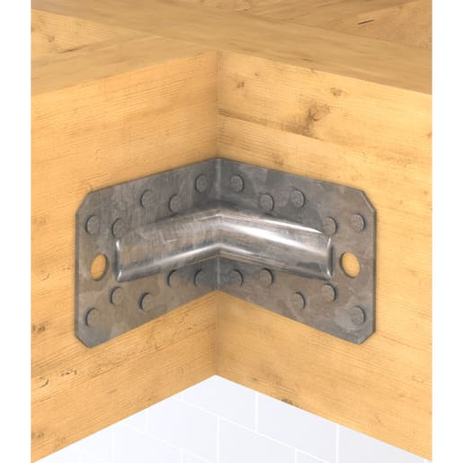 Simpson Strong-Tie Reinforced Angle Brackets 90 x 65 x 90 x 2.5mm