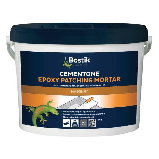 Bostik Cementone Epoxy Patching Mortar 5kg Grey