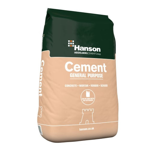 Hanson General Purpose Cement Paper Handy Bag 25kg