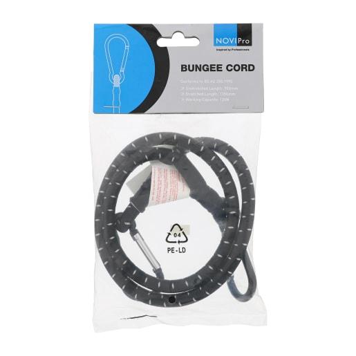 NOVIPro Bungee Cord 900mm Black