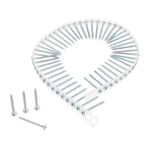 NOVIPro Collated Drywall screws 42 x 3.5mm Zinc