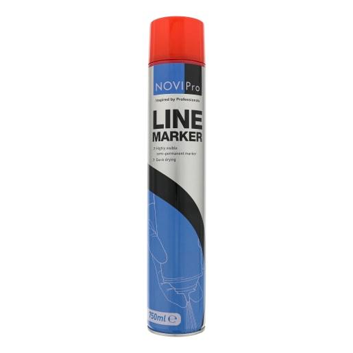 NOVIPro Line Marker Spray 750ml Red