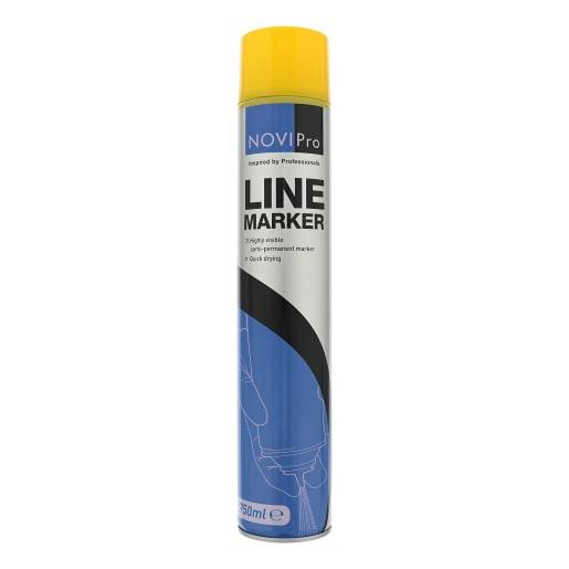 NOVIPro Line Marker Spray 750ml Yellow