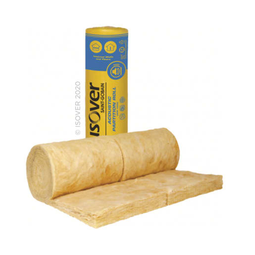Isover APR Acoustic Partition Roll 9.17M x 2 x 600mm x 100mm Pack of 2