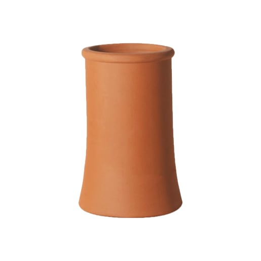 Hepworth Terracotta Plain Roll Top in Red 300mm x 285mm