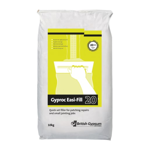 Gyproc Easi-Fill 20 Quick Dry 10kg White