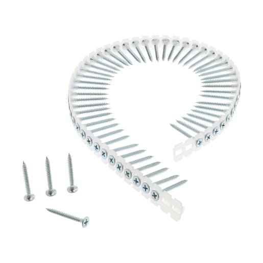 NOVIPro Collated Drywall screws 35 x 3.5mm Zinc