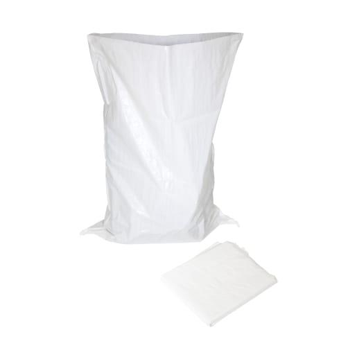 NOVIPro Woven Rubble Sack Pack of 5 White
