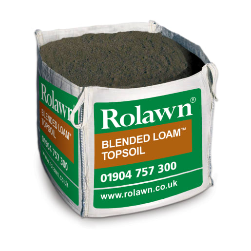 Rolawn Blended Loam Topsoil Bulk Bag 800kg