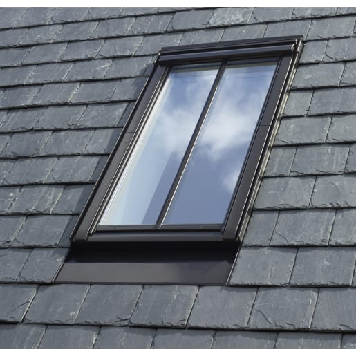 VELUX Centre Pivot Conservation Window + Flashing For Slate 55x98