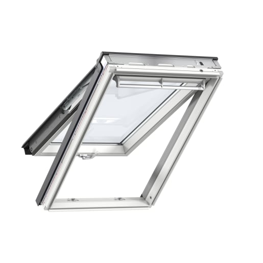 VELUX GPL FK06 2070 White Painted Top Hung Roof Window 66 x 118cm