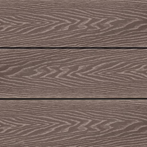 GRONODEC Premier Mocha Composite Decking Board 25 x 138 x 3660mm