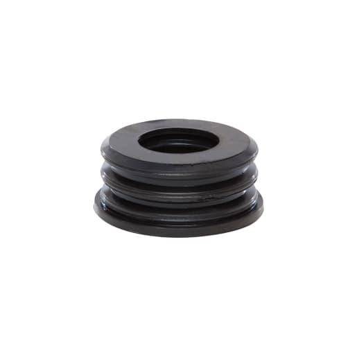Polypipe Soil Rubber Boss Adaptor 32mm Black