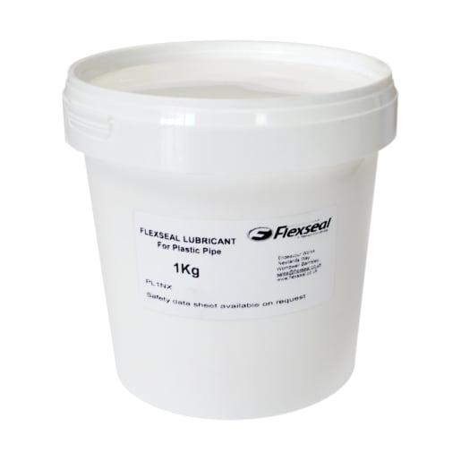 Flexseal Neutrex Pipe Lubricant for Plastic Pipe 1kg White