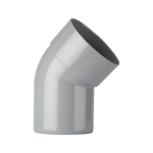 Polypipe Ring Seal Soil 135° Bend Spigot Socket 110mm