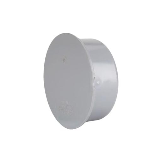 Polypipe Soil Socket Plug 110mm Grey