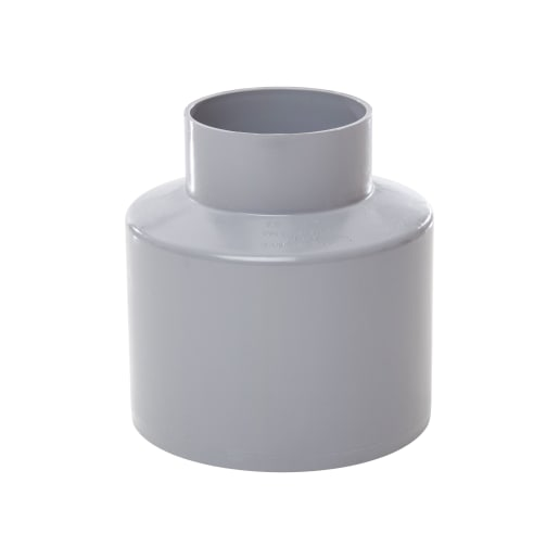 Polypipe Soil And Vent To Waste Reducer 110mm Grey