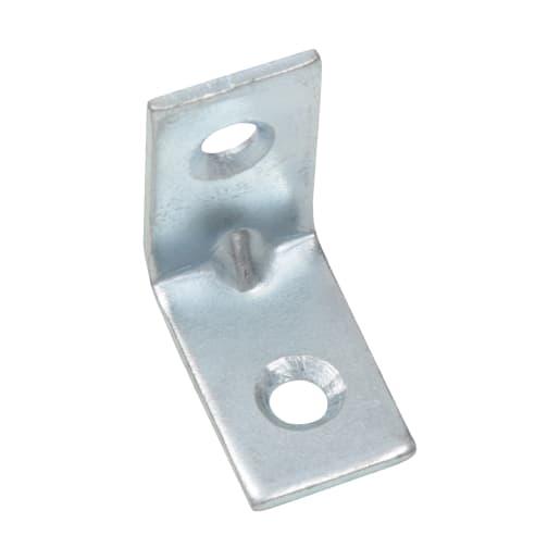 Corner Brace 25mm Pack of 4 Bright Zinc Plated